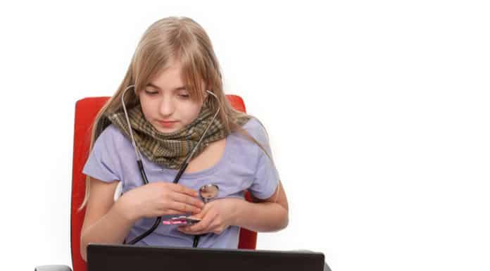 hipochondria, dziewczyna komputer