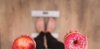 odchudzanie jabłko ciastko waga