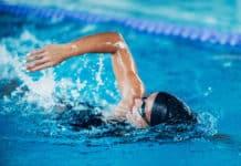 pływanie kobieta basen