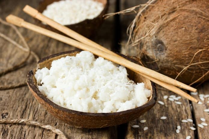 ryż jaśminowy na mleku kokosowym