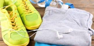 kolorowe ubranie sportowe