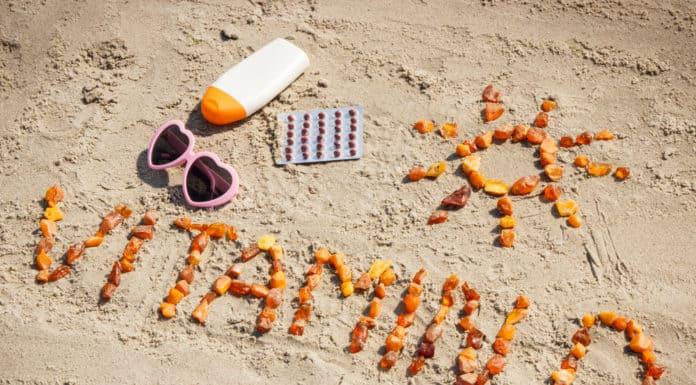 witamina d, plaża, słońce