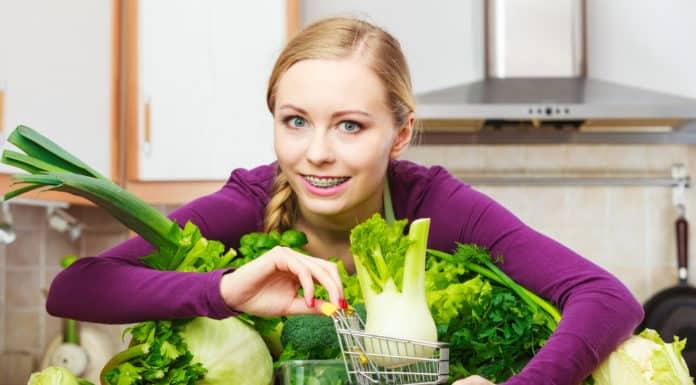kobieta, spożywcze zakupy
