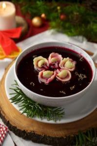 barszcz świąteczny, zupa