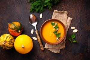 dynie, zupa dyniowa
