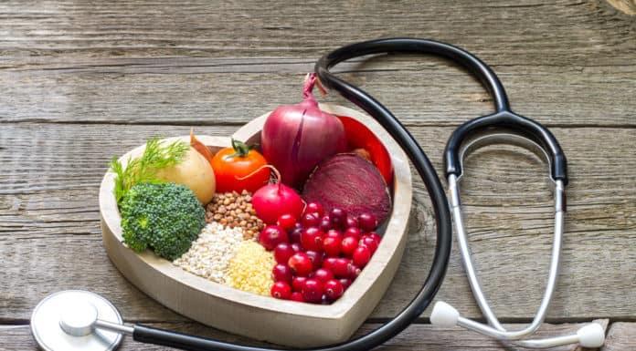 jedzenie, serce, stetoskop