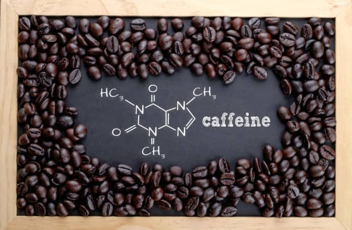 kofeina, kawa, tablica, wzór