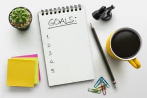 notes, ołówek, cele