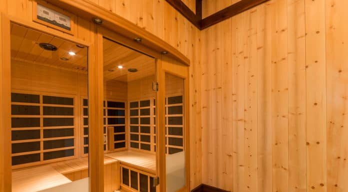 sauna infra-red kabina