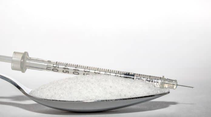 zastrzyk insulinowy