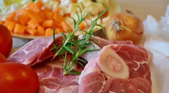 mięso przyprawy warzywa