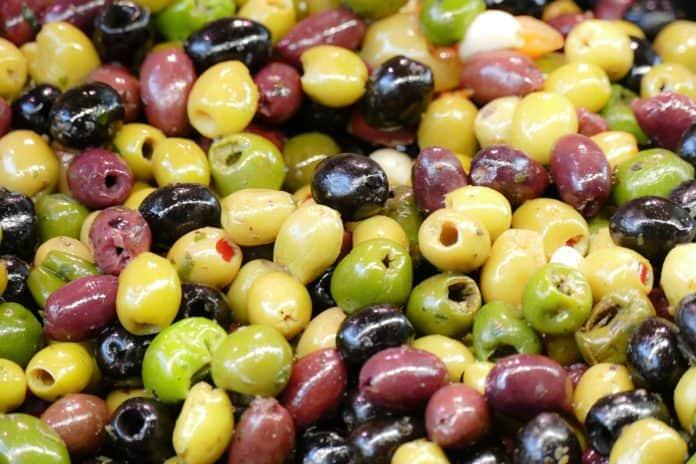oliwki czarne, oliwki zielone
